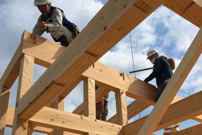 「四ツ屋の家」の新築工事が始まりました。